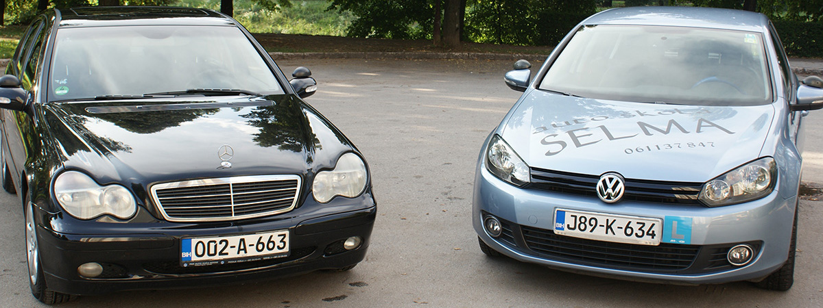 Mercedes C-Klasse & VW Golf VI